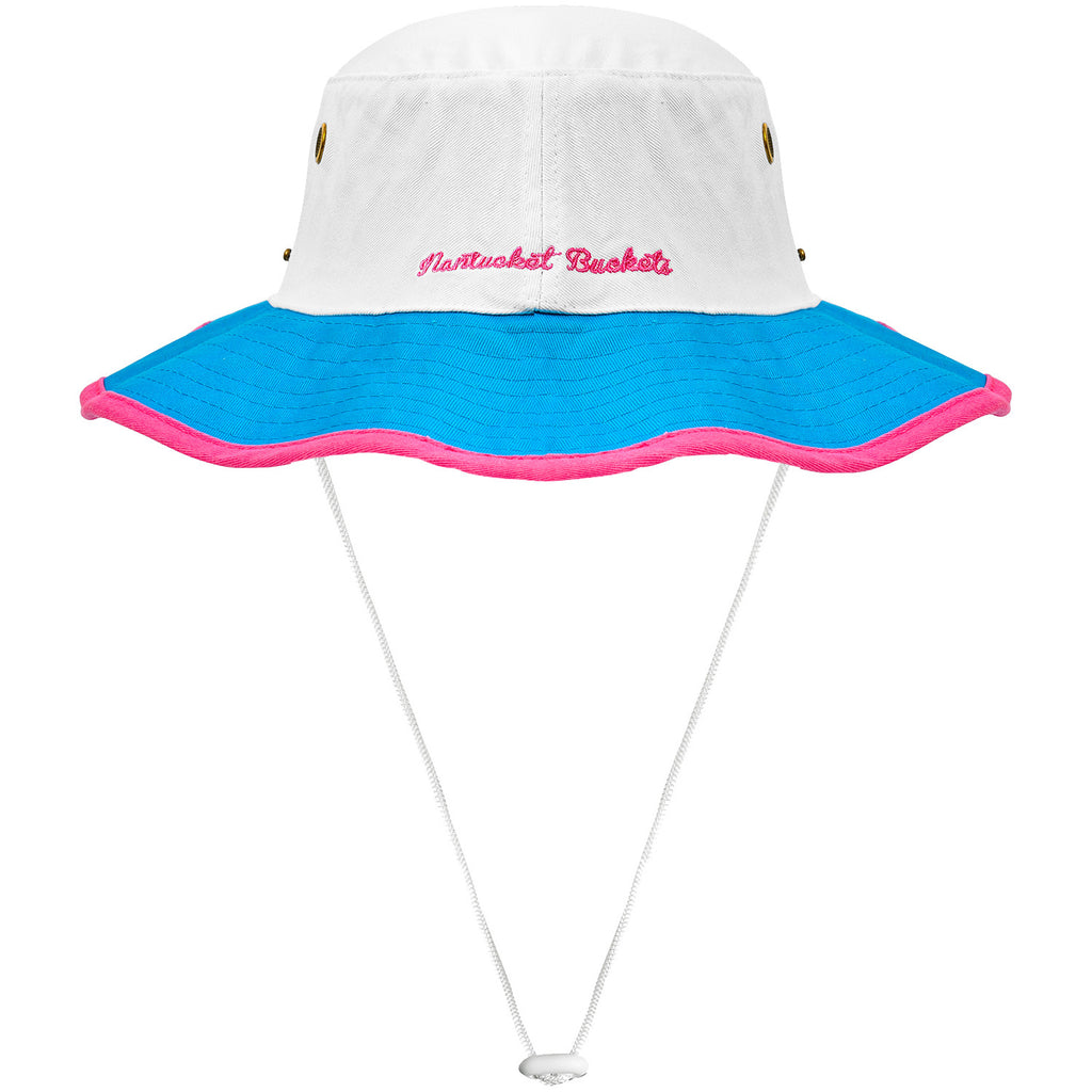 Nantucket Bucket Hat with String