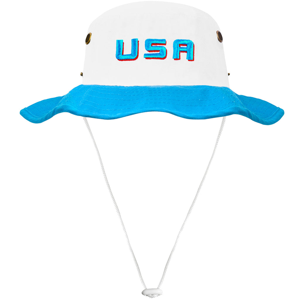 The Retro USA Throwback Bucket Hat – Nantucket Buckets ec5665bd579