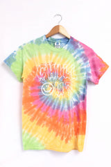 Chill Out Pastel Tie-Dye Graphic Unisex Tee