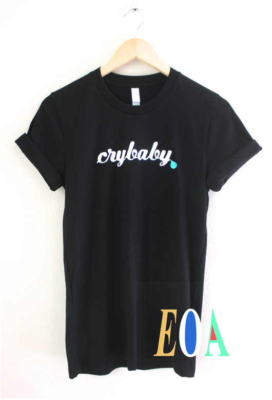 Crybaby Black Graphic Unisex Tee