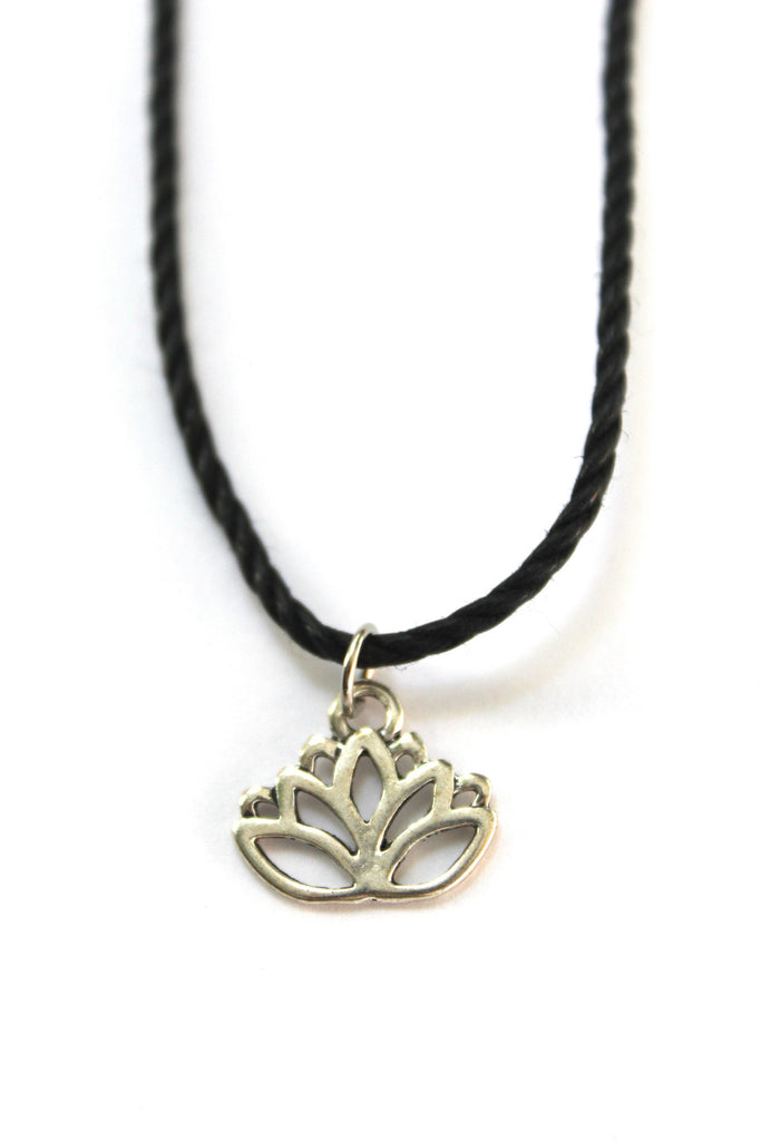 Lotus Flower Choker Necklace