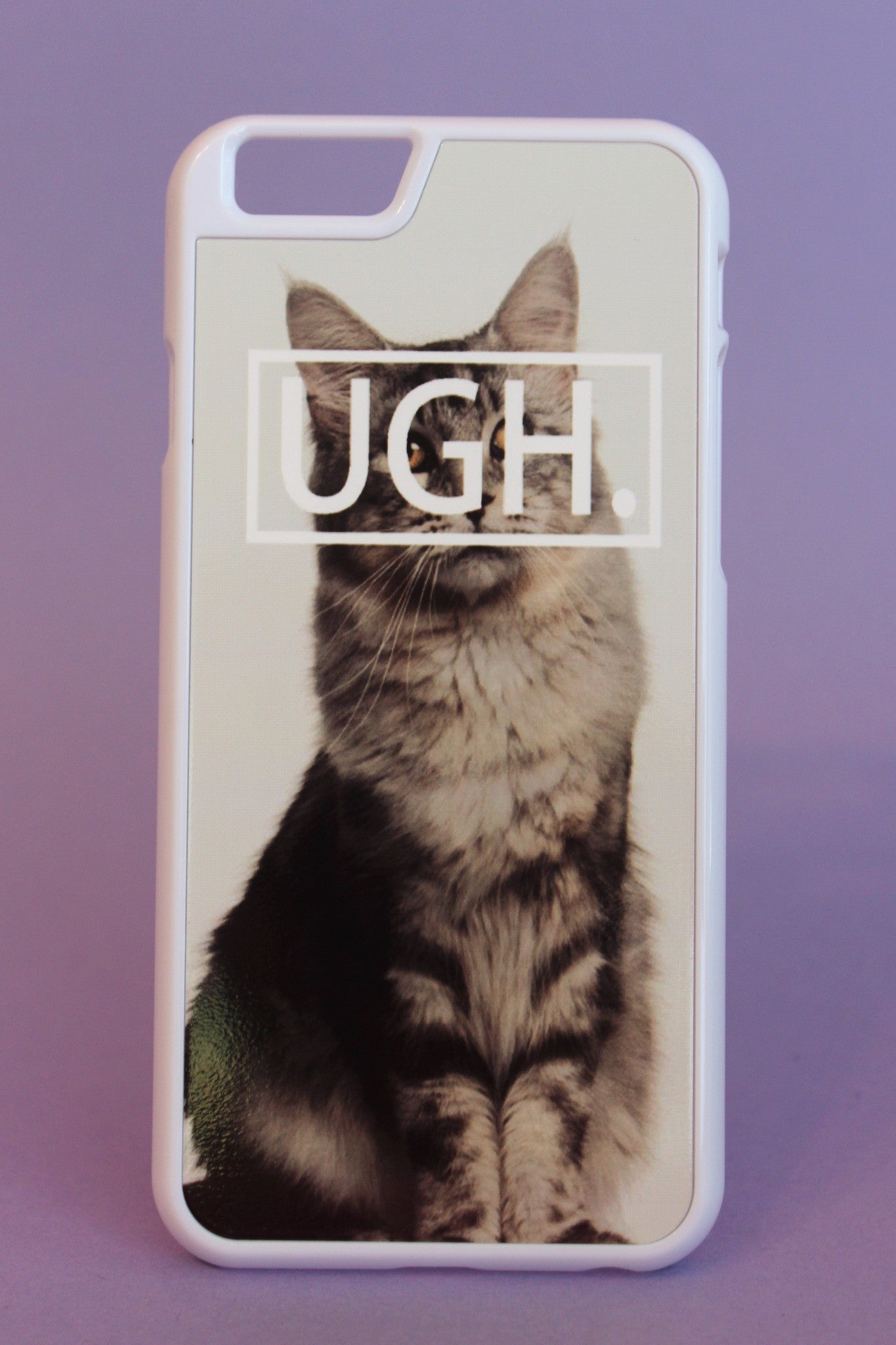 UGH. Cat Phone Case