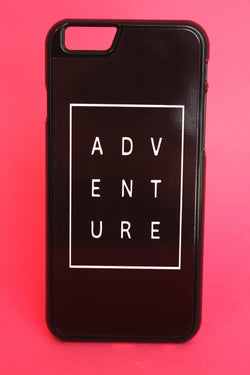 ADVENTURE Black Phone Case