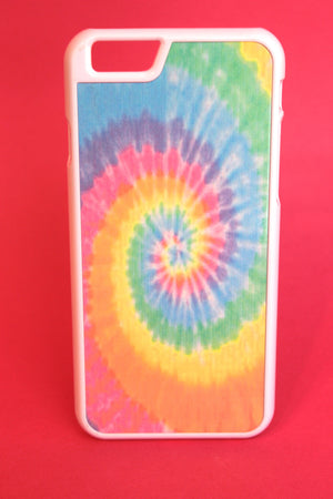 Pastel Rainbow Tie Dye Phone Case