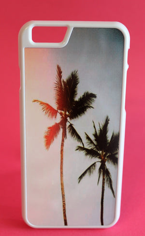 Sun Leak Palm Tree Phone Case