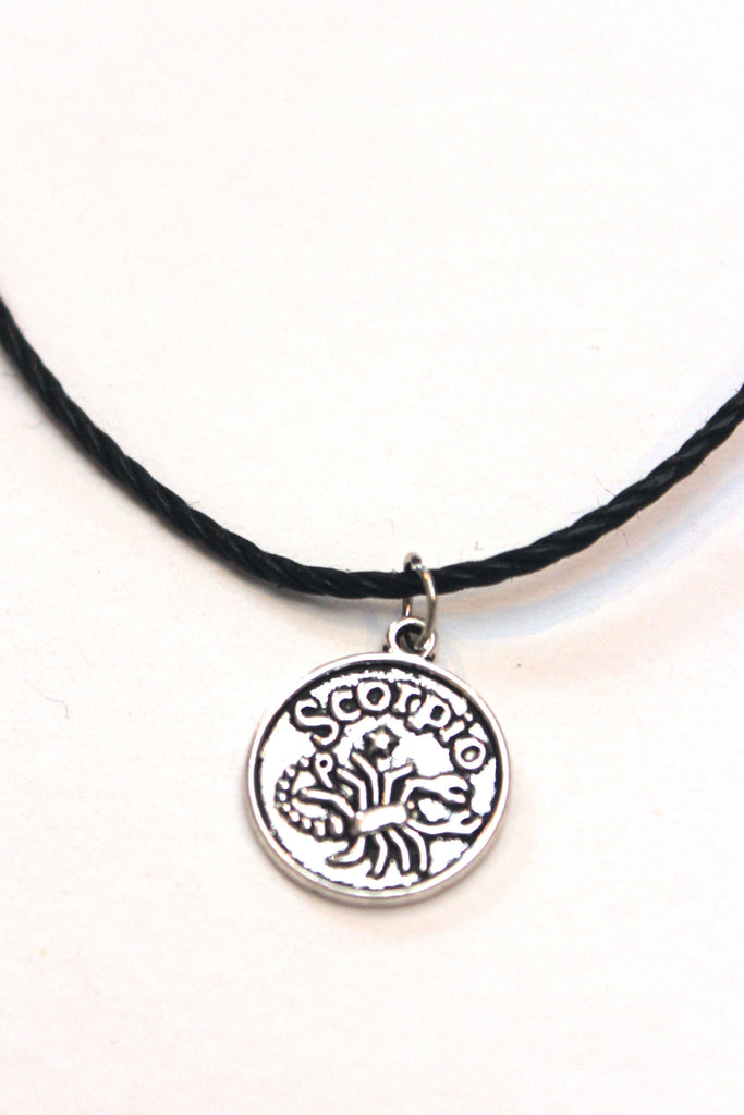 Zodiac Sign: Scorpio Choker Necklace