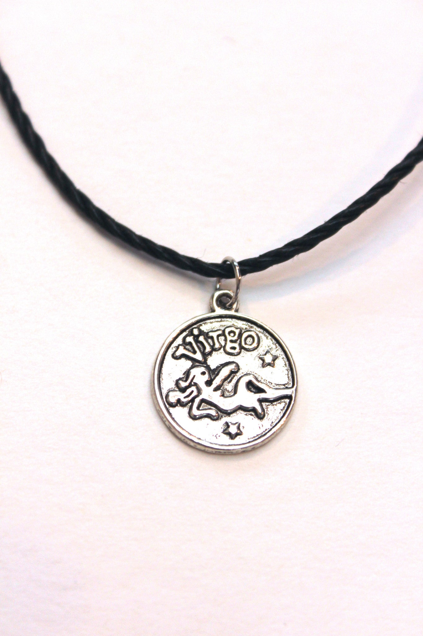 diamond the zodiac products collar last line virgo necklace