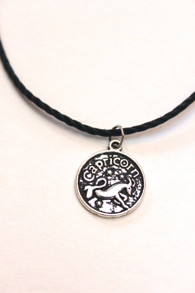 Zodiac Sign: Capricorn Choker Necklace