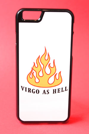 Virgo as Hell Phone Case