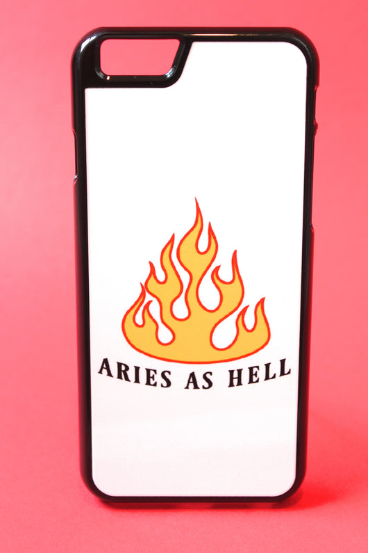 Aries as Hell Phone Case