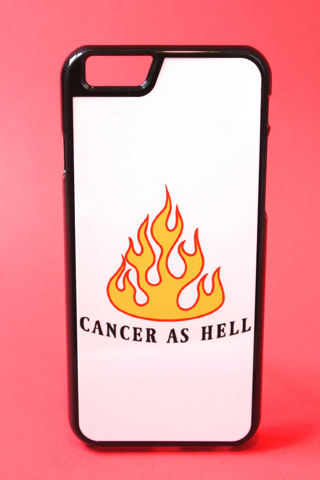 Cancer as Hell Phone Case