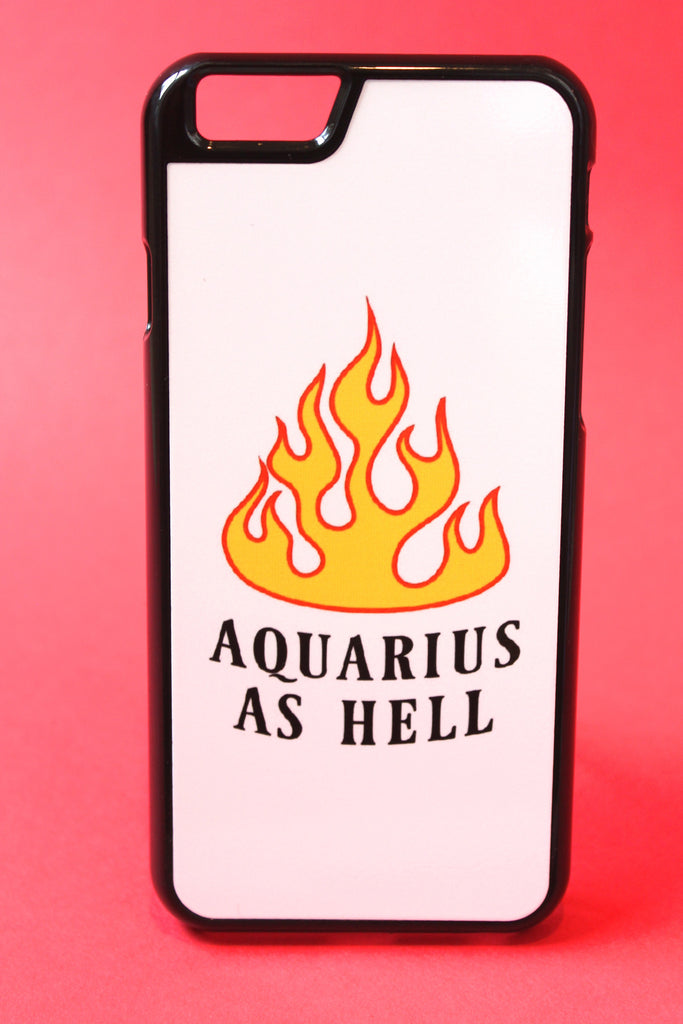 Aquarius as Hell Phone Case