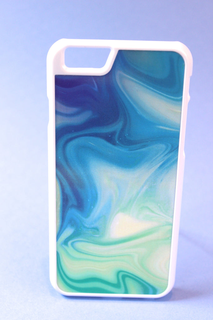 Pastel Ocean Color Warp Phone Case
