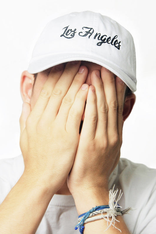 Los Angeles White Baseball Cap