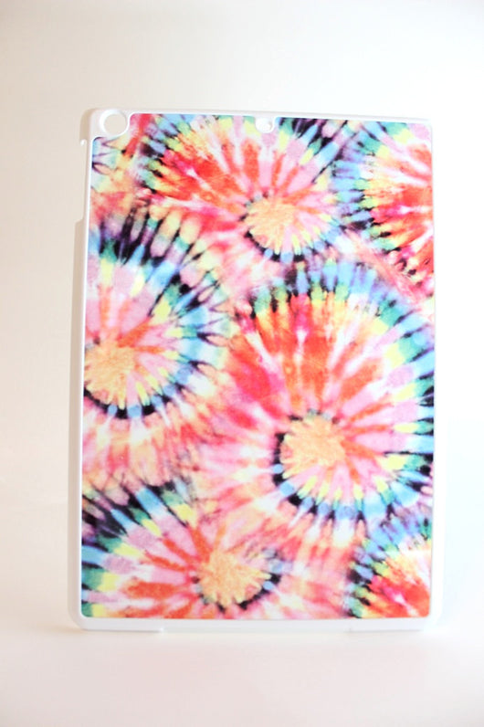 Faded Tie-Dye Swirls Tablet Case