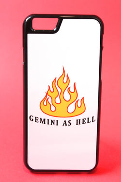 Gemini as Hell Phone Case