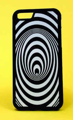 Hypnotic Spiral Wormhole Phone Case