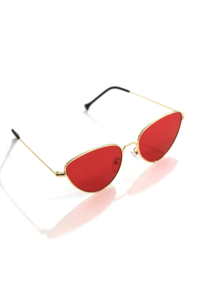 Red Cat Eye Sunnies