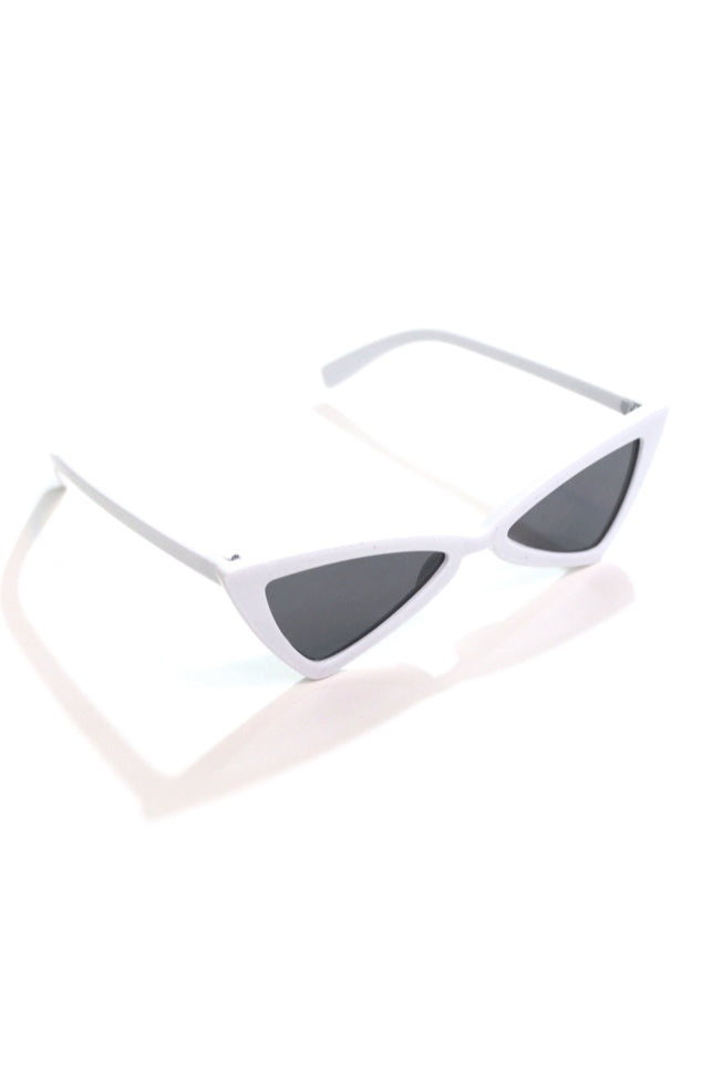 White Retro Sunnies