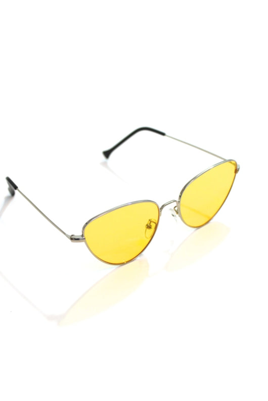 Canary Yellow Cat Eye Sunnies