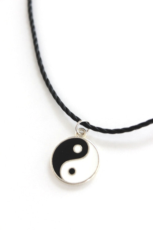 Yin Yang Choker Necklace