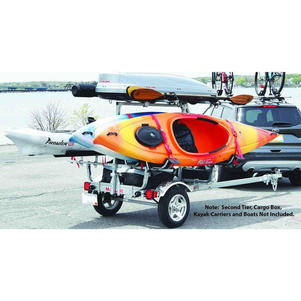 MicroSport™XT Trailer with Aluminum Wheels, Aluminum Fenders and Retractable Tongue Kit