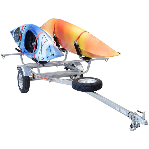 MicroSport™ 2 Kayak Trailer Package (2 Sets J-Racks, Spare Tire)