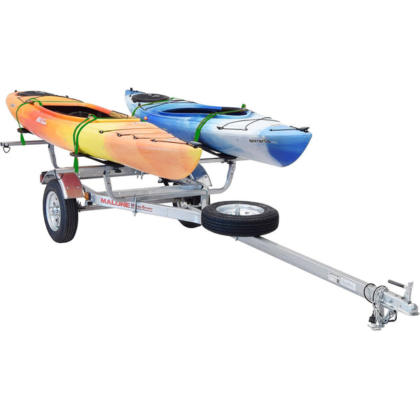 MicroSport™ 2 Kayak Trailer Package (2 Sets MegaWings, Spare Tire)