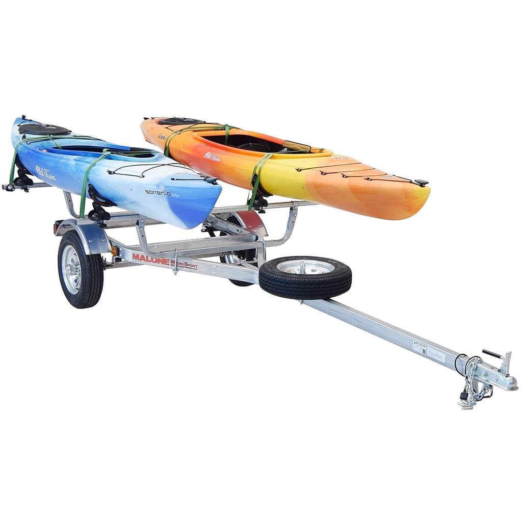 MicroSport™ 2 Kayak Trailer Package (2 Sets Saddle Up Pro, Spare Tire)