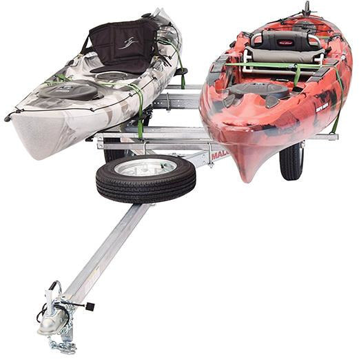 MicroSport™ LowBed™ 2 Kayak Trailer Package (2 Sets MegaWings™ & Spare Tire)