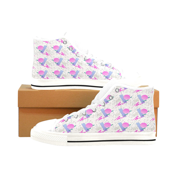 CLASSIC VAPOR : MENS HIGH-TOPS | | Vaporwave Fashion - Aesthetic Clothing & Accessories