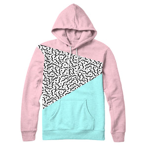 80s Pastel : Men's AOP Hoodie | Vaporwave Clothing & Accessories | Vaporwave Fashion