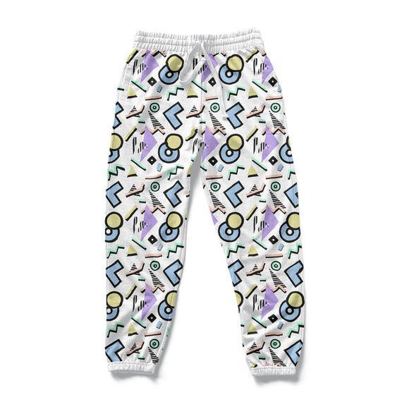90's Aesthetic : AOP Joggers | Vaporwave Clothing & Accessories | Vaporwave Fashion