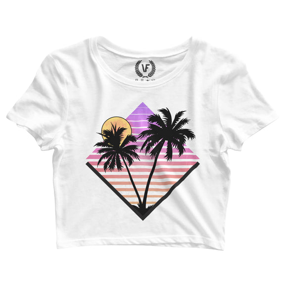 PLAYA : Crop-Top | Women's | Crop-Tops | Vaporwave Fashion