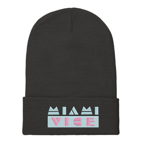 MIAMI VICE : Beanie | Hats | Beanies | Vaporwave Fashion