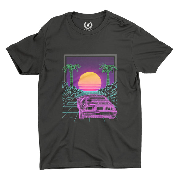 SUNSET : T-Shirt | Vaporwave T Shirt | Vaporwave Fashion