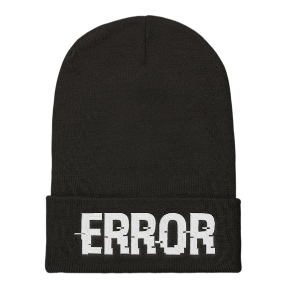 ERROR : Beanie | Vaporwave Clothing & Accessories | Vaporwave Fashion