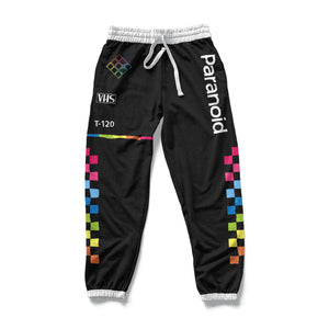 PARANOID : AOP Joggers | Vaporwave Clothing & Accessories | Vaporwave Fashion