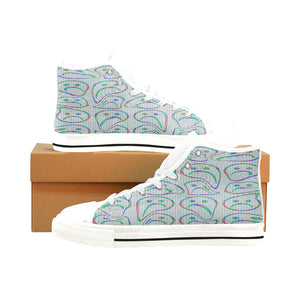 WARPED : Men's High-Tops | Vaporwave Clothing & Accessories | Vaporwave Fashion
