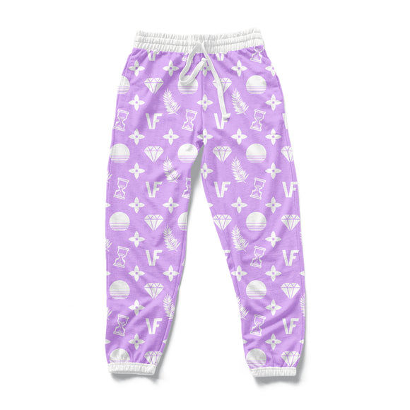 VF PAT : AOP Joggers | All Over Print | Joggers | Vaporwave Fashion