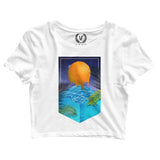 POOL : Crop-Top | Women's | Crop-Tops | Vaporwave Fashion