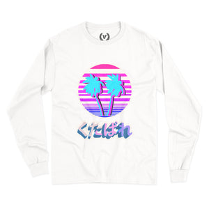 MIAMI VIBES : Long-Sleeve | Unisex | Long-Sleeve |Vaporwave Fashion