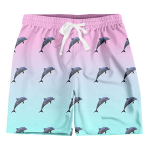 DOLPHIN PRINT : Men's Shorts | Vaporwave Clothing & Accessories | Vaporwave Fashion