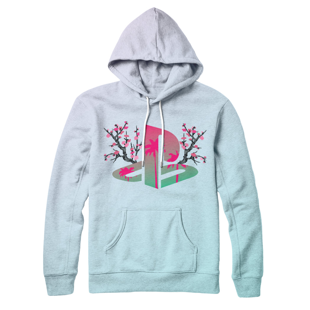 Chill Station : All Over Print Hoodie - Vaporwave Fashion™ | Vaporwave Clothing & Aesthetic Apparel