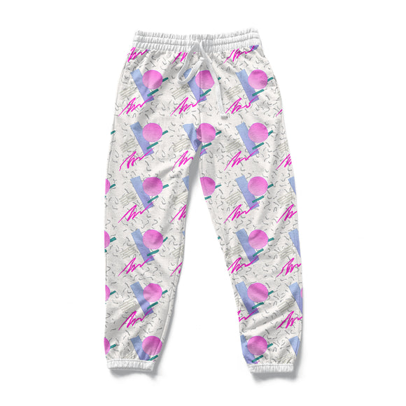 Classic Vapor : AOP Joggers | Vaporwave Clothing & Accessories | Vaporwave Fashion
