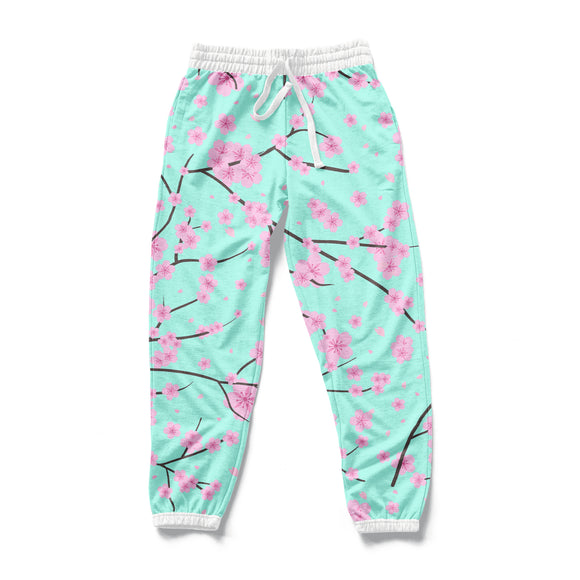 SAKURA : AOP Joggers | All Over Print | Joggers | Vaporwave Fashion