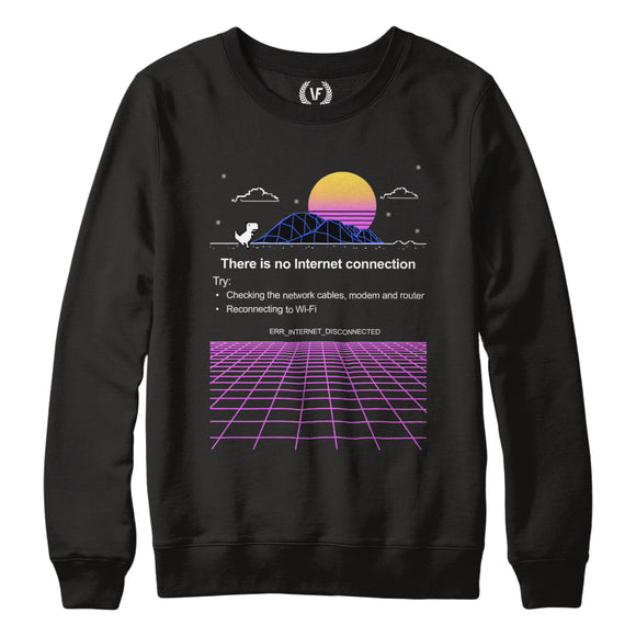 DISCONNECTED : Sweatshirt | Unisex | Vaporwave Sweatshirt | Vaporwave Fashion