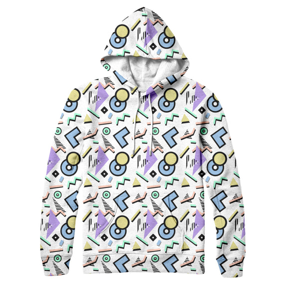 90s Aesthetic : AOP Hoodie | All Over Print Hoodie for Men (H13) | Vaporwave Fashion