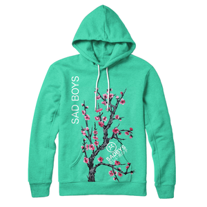 Sad Boys Green Tea :  Hoodie | | Vaporwave Fashion - An Aesthetic Clothing Brand | Shop