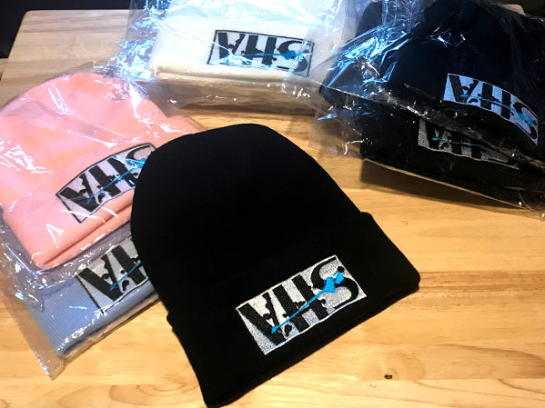 VHS Splatter : Beanie | | Vaporwave Fashion - Aesthetic Clothing & Accessories
